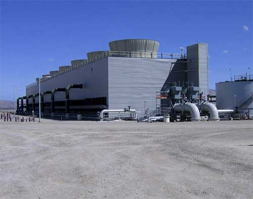 cooling water treatment facility