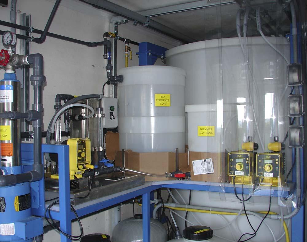 Emulsion Polymer Feed System