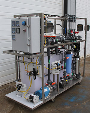 water treatment pilot equipment