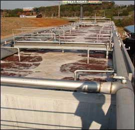 Slaughterhouse Activated Sludge System