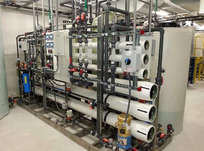 dual reverse osmosis filter
