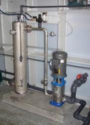 DAF system - installed