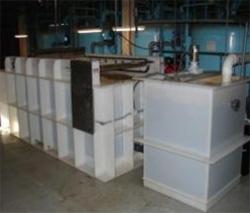 dissolved air flotation system - installed