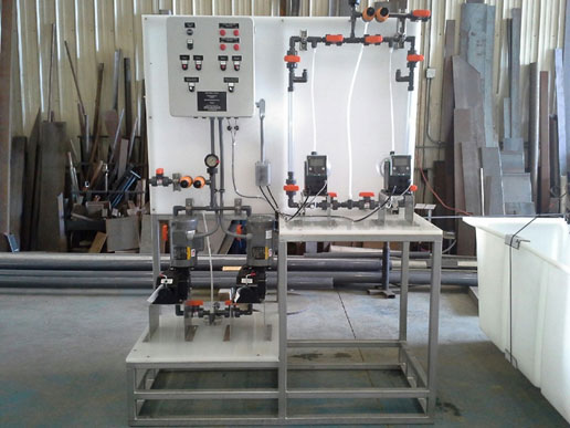 dual cleaner dosing system