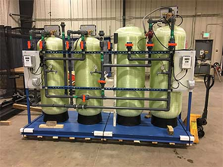 pretreatment skid RO system