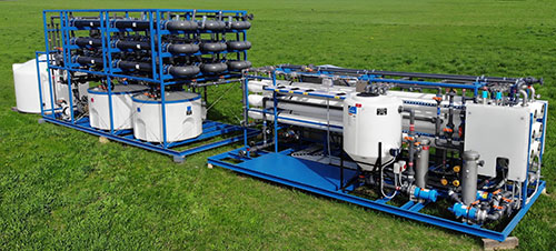 ultrafiltration / reverse osmosis system