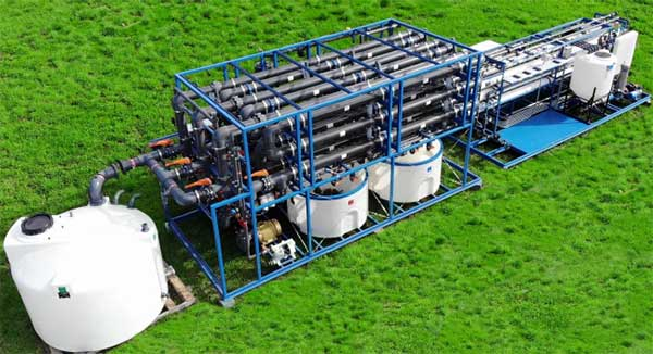 custom ultrafiltration membrane system equipment