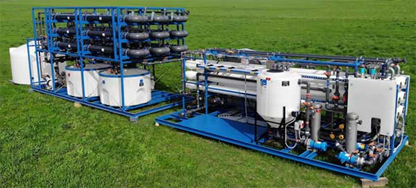 reverse osmosis system for water