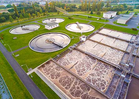 municipality water treatment facility