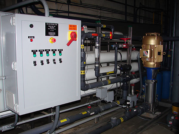 ro system boiler feedwater pretreatment installed