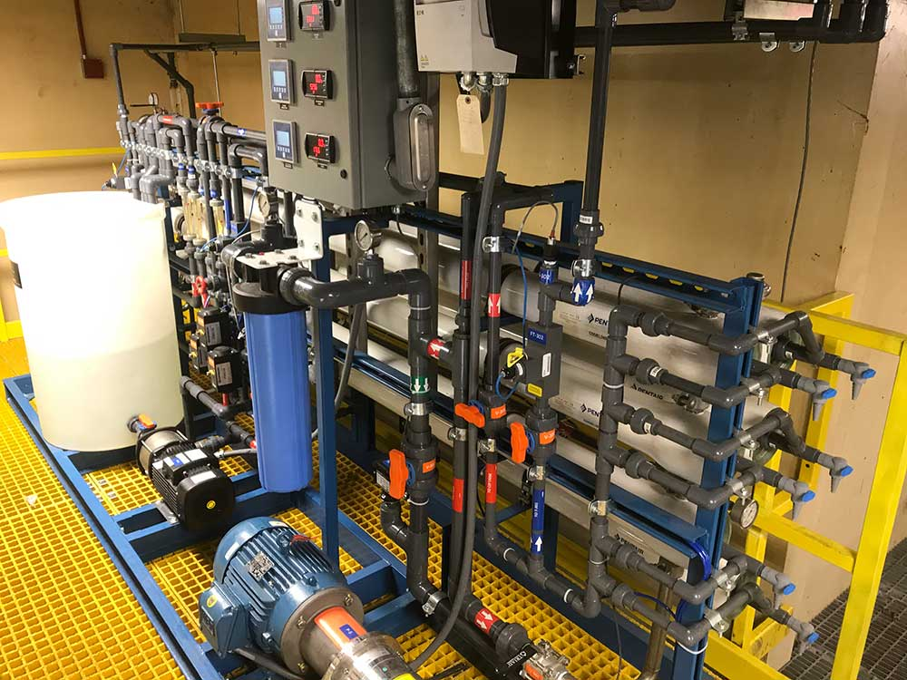 reverse osmosis for wastewater treatment