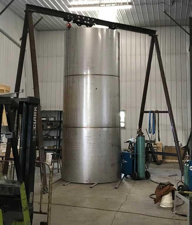 304 stainless steel tank